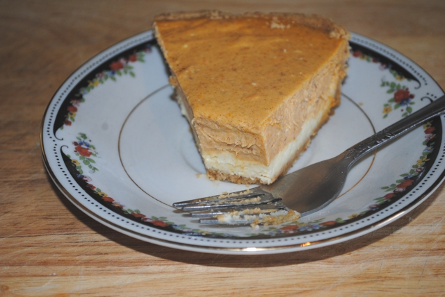 Betsy Crocker: Pumpkin Cheesecake